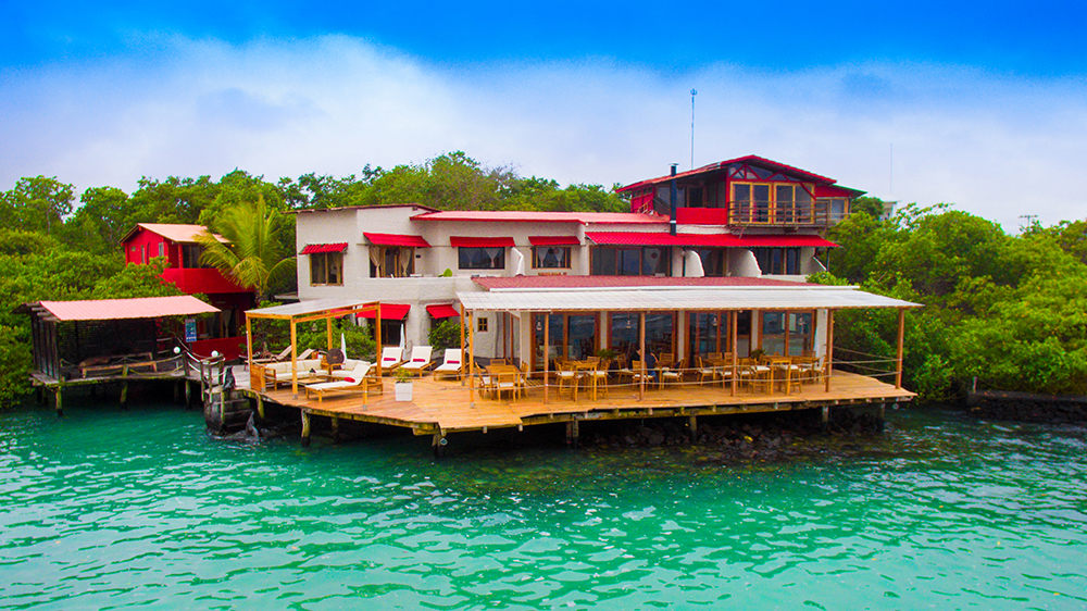 Red Mangrove Ecolodge in Santa Cruz Island
