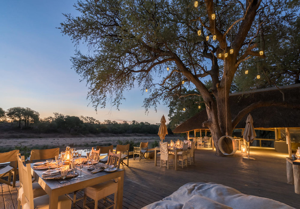 Simbavati River Lodge, Timbavati Private Nature Reserve
