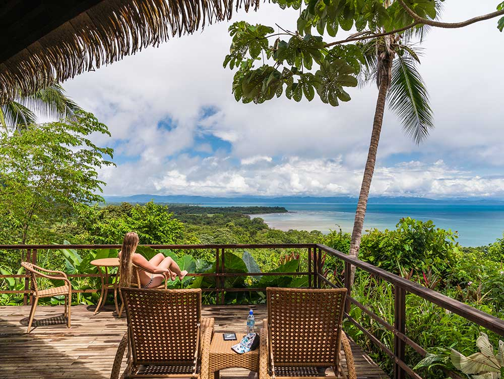 View from Lapa Rios Lodge
