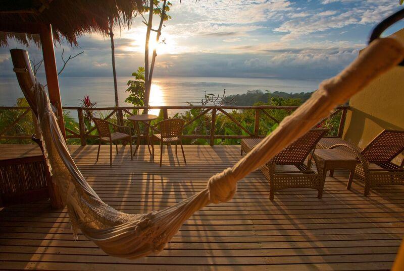 Villa Deck at Lapa Rios Lodge
