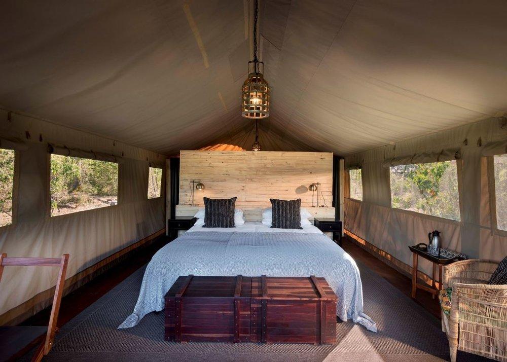 Room at Khwai Tented Camp