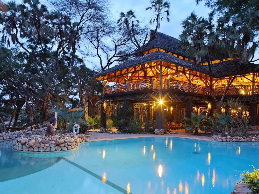 Sarova Shaba Game Lodge, Shaba National Reserve