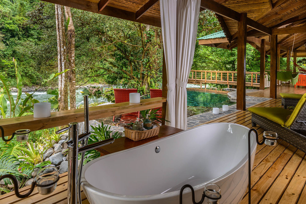Suite at Pacuare Lodge
