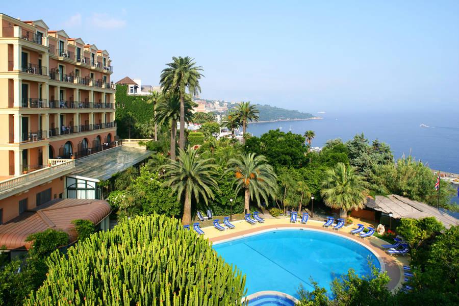 Pool at Grand Hotel Royal, Sorrento, Italy
