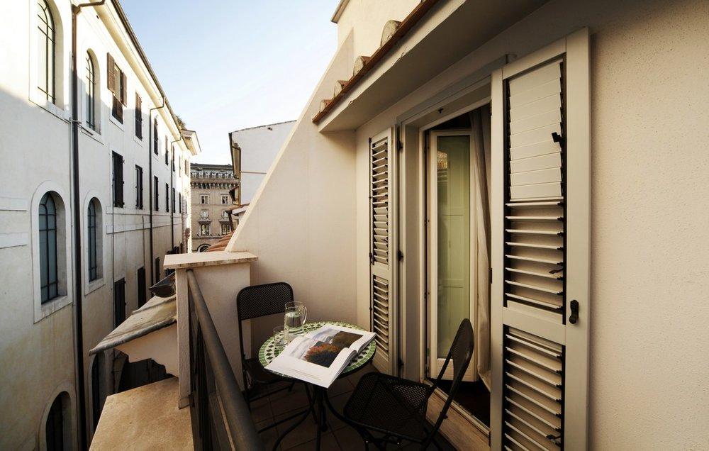 Private Terrace at Telegraph Suites, Rome