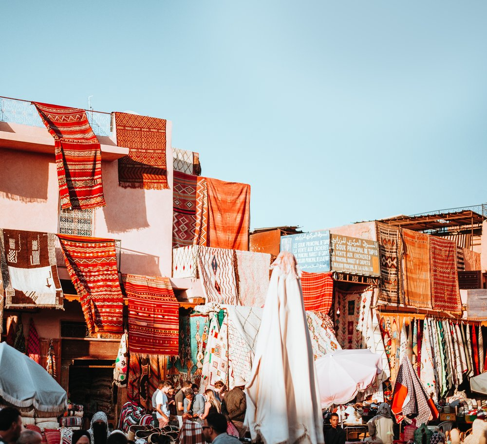 Traditional Market in Morocco