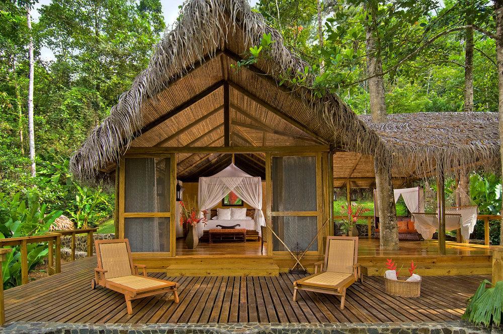 Villa at Pacuare Lodge