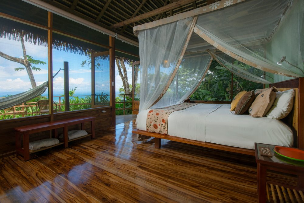 Room at Pacuare Lodge