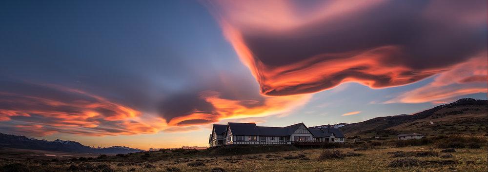 Sunrise at Eolo Patagonia - El Calafate, Argentina