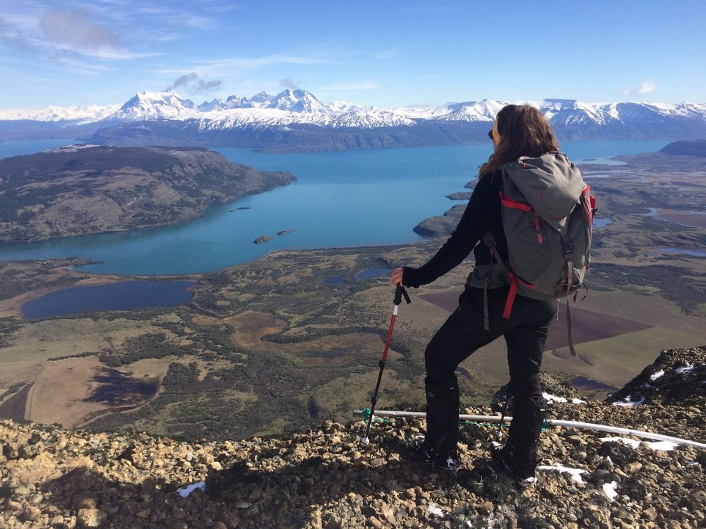 Hiking at Explora Lodge - Torres del Paine National Park, Chile