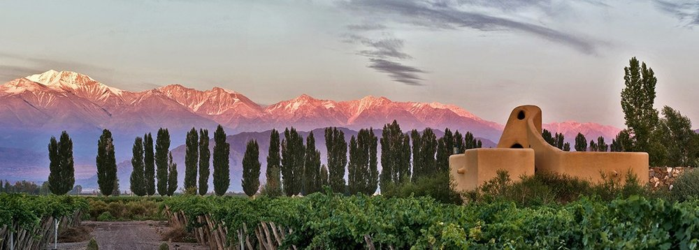 Views of the Andes at Cavas Wine Lodge - Mendoza, Argentina