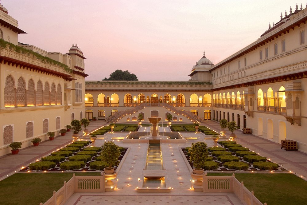 Day 4 - Agra to JaipurRambagh Palace