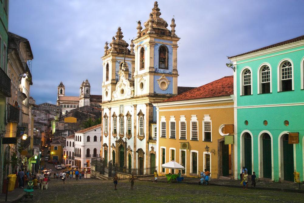 Rosario Dos Pretos Church in Salvador da Bahia