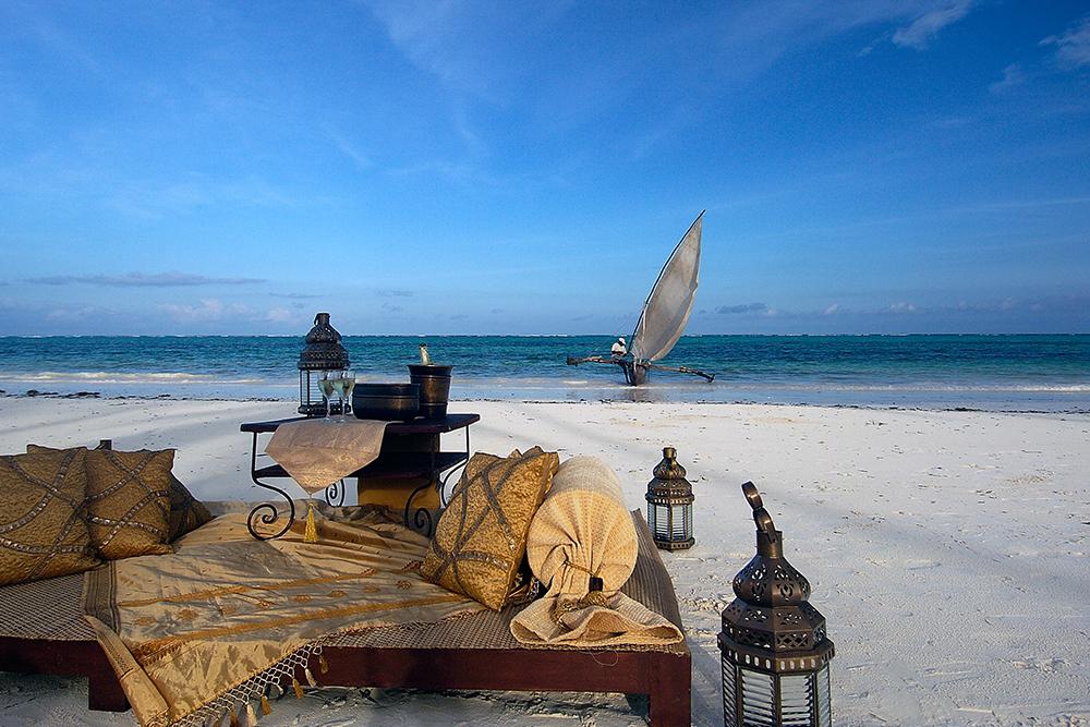 Sundowner at The Palms Zanzibar