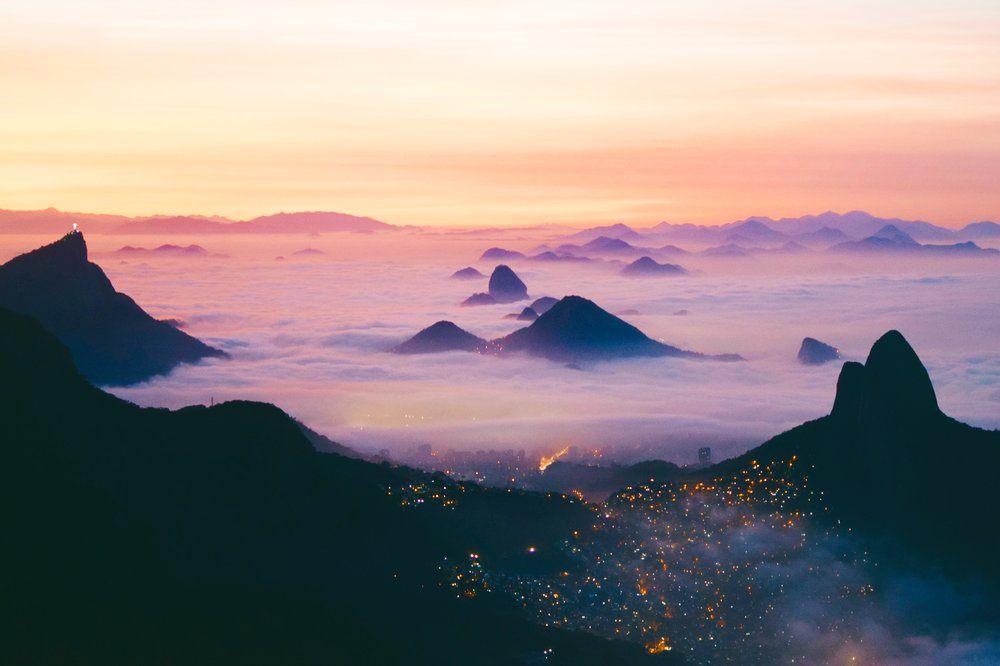 Rio above the clouds