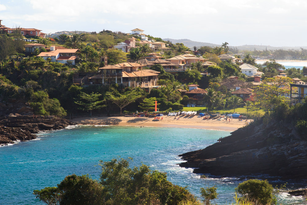 Coast of Buzios, Brazil