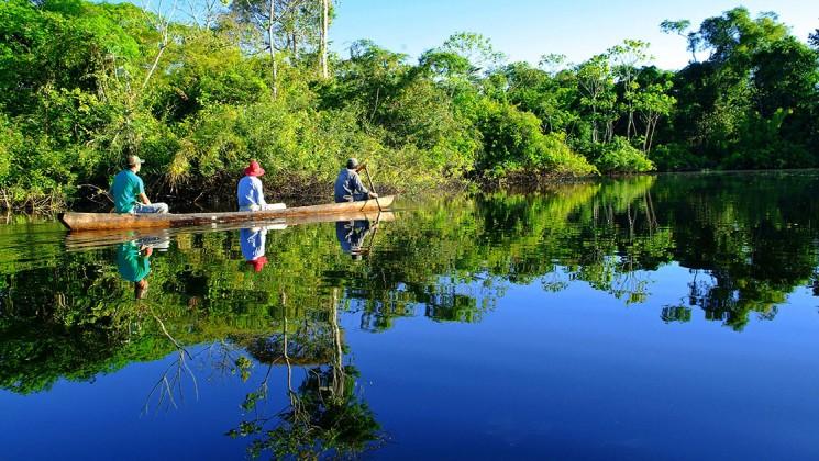 Excursion on the Amazon River