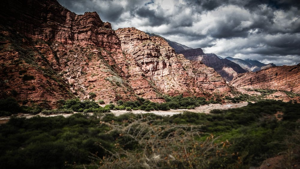Mountains of Salta in Northern Argentina