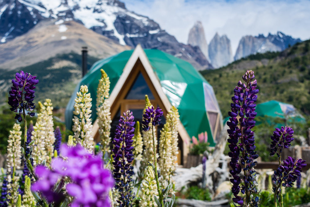 EcoLodge Dome in Patagonia, Chile