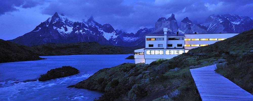The lodge at explora Patagonia, Torres del Paine, Chile