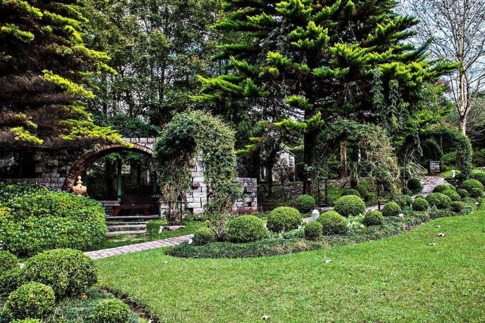 Gardens of Hotel Saint Andrews, Gramado, Brazil