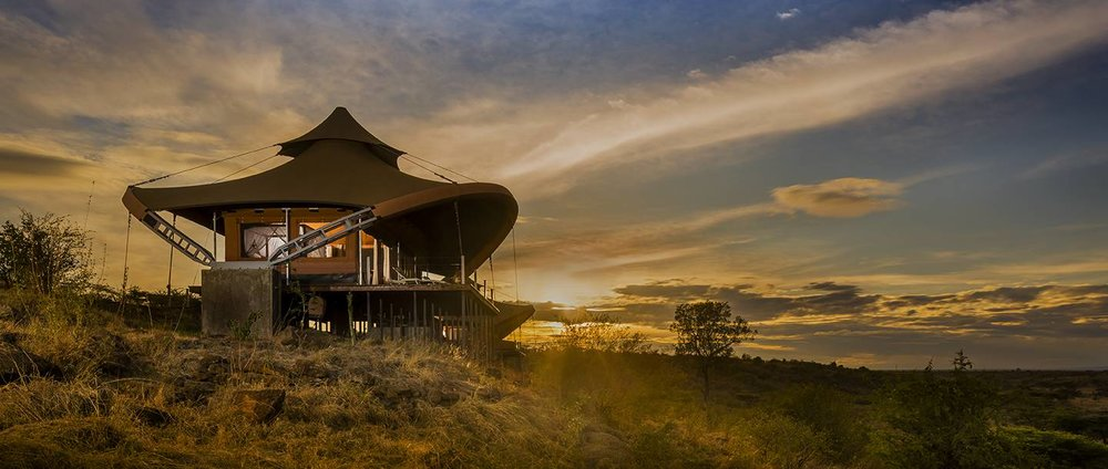 Tented Villa at Mahali Mzuri Game Camp in Maasai Mara, Kenya