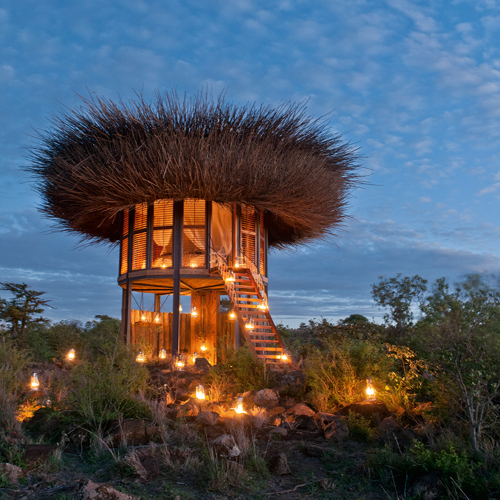The Bird Nest at Villa at Segera Retreat in Laikipia, Kenya
