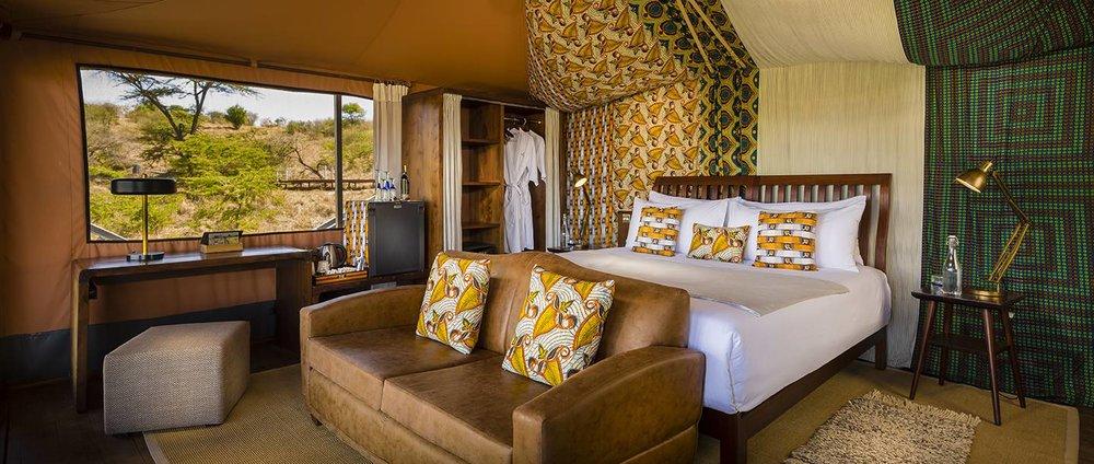 Day 5 - Mahali Mzuri Tented Camp, Olare Motorogi Conservancy, Maasai Mara, Kenya
