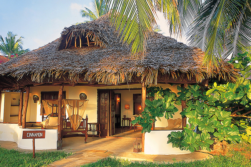 A villa at The Palms Hotel in Zanzibar