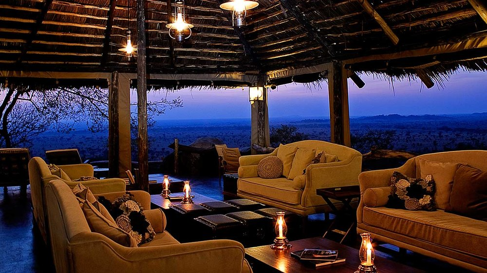 Lounge at Serengeti Pioneer Camp, Tanzania