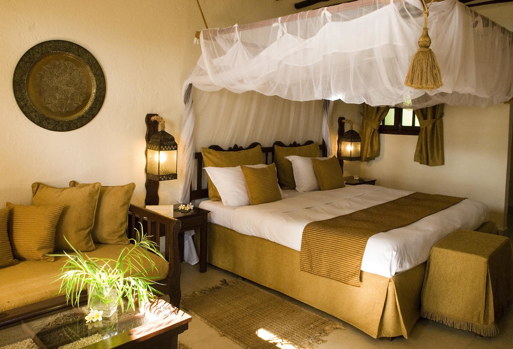 Accommodations at Breezes Beach Club in Zanzibar
