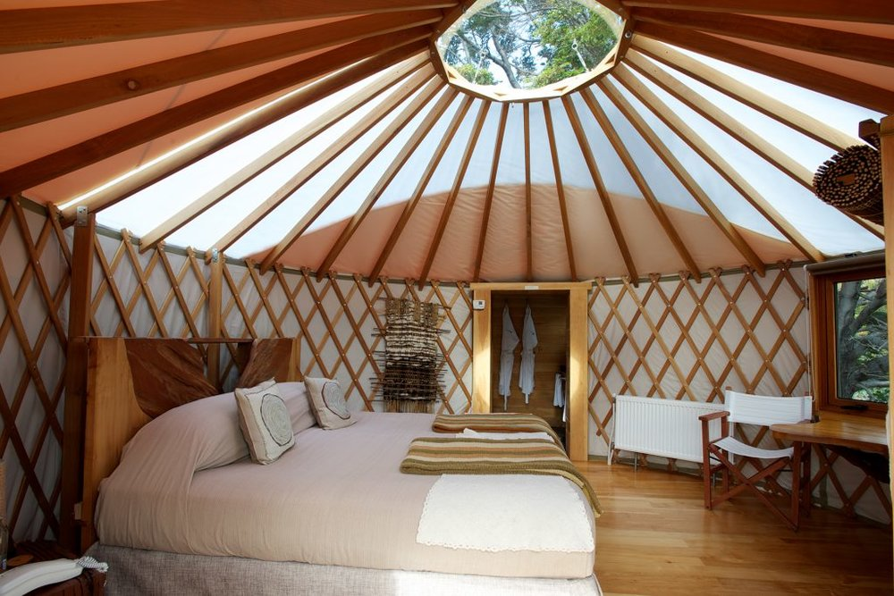 Yurt at Patagonia Camp