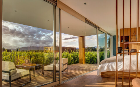 Accommodations at Entre Cielos, Mendoza, Argentina