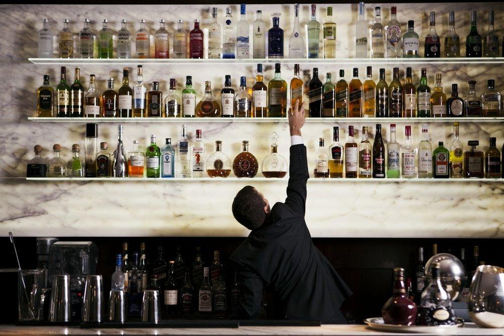 Bar at Algodon Mansion, Buenos Aires