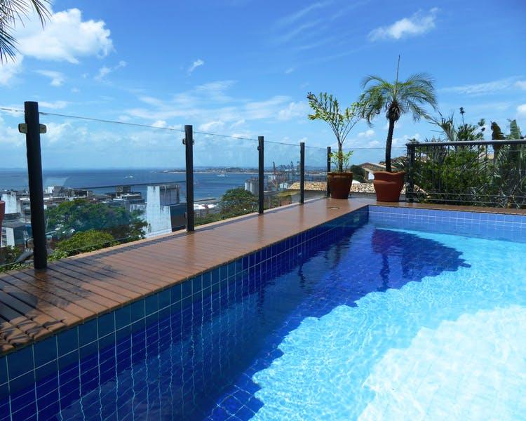 Rooftop Pool at Casa do Amarelindo, Salvador da Bahia