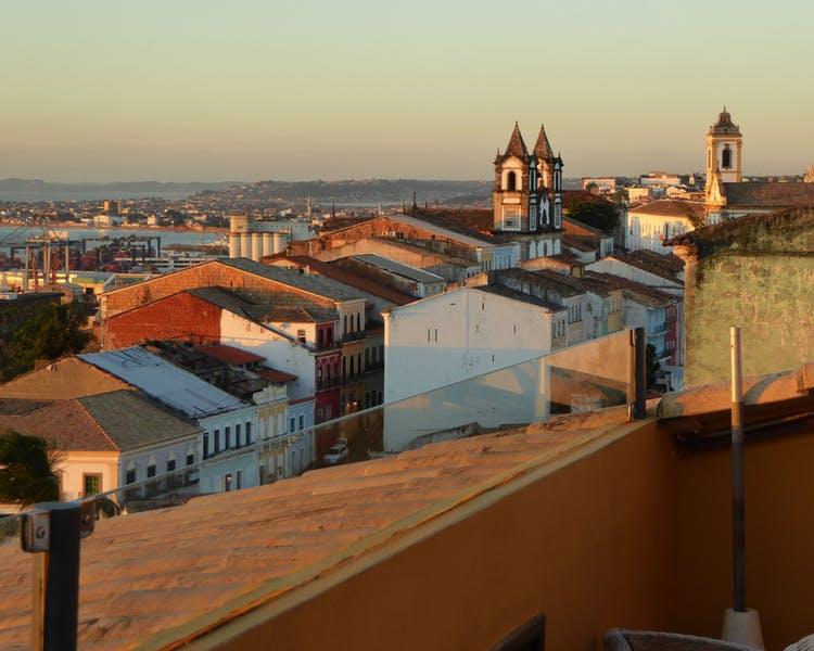 View from Panoramic Bar at Casa do Amarelindo, Salvador da Bahia