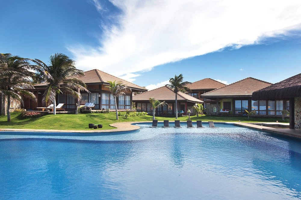 Pool at Zorah Beach Hotel in Guajiru Beach