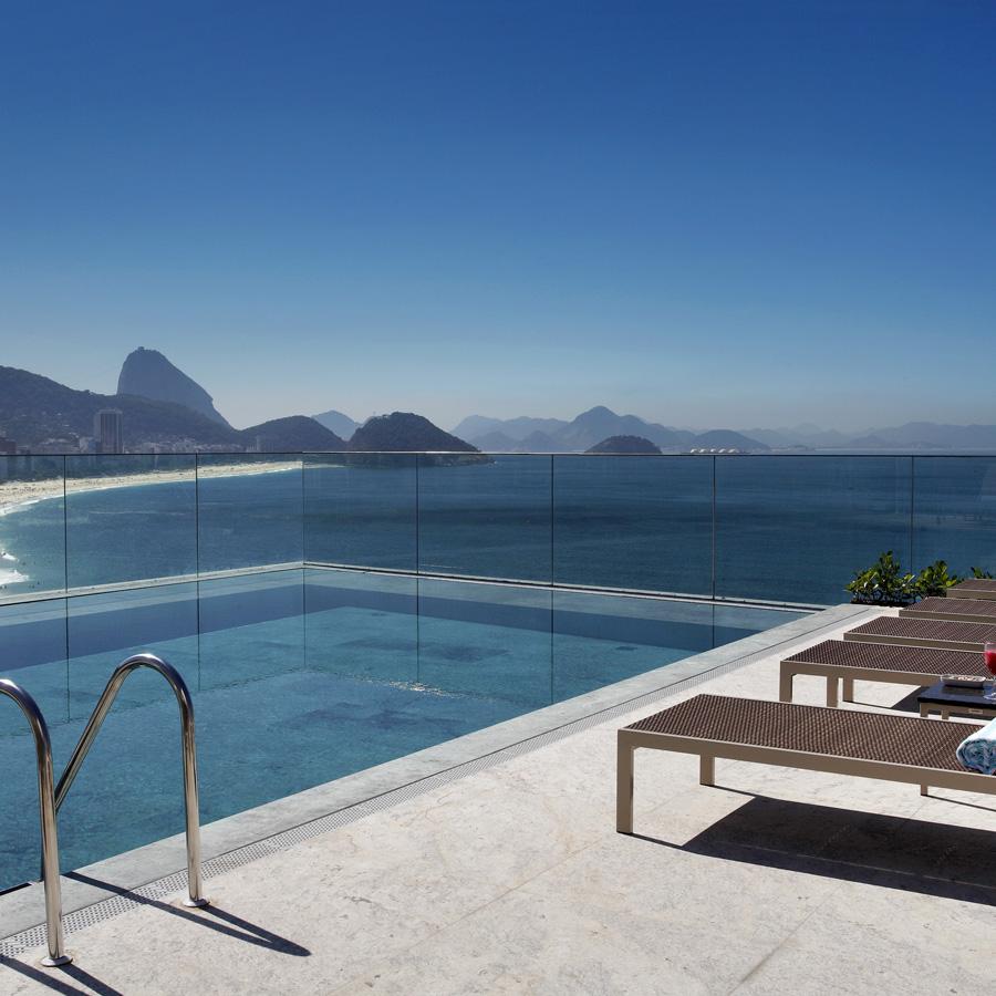 Rooftop Pool at Windsor at Miramar, Rio de Janeiro
