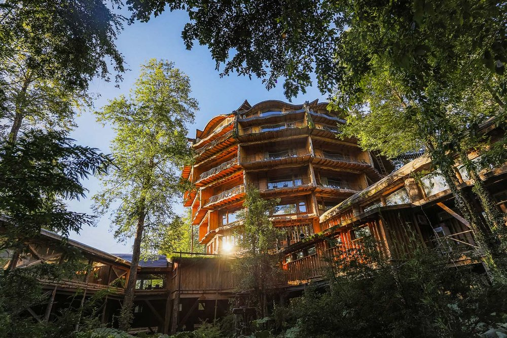 Nothofagus Hotel & Spa at Huilo Huilo Biological Reserve