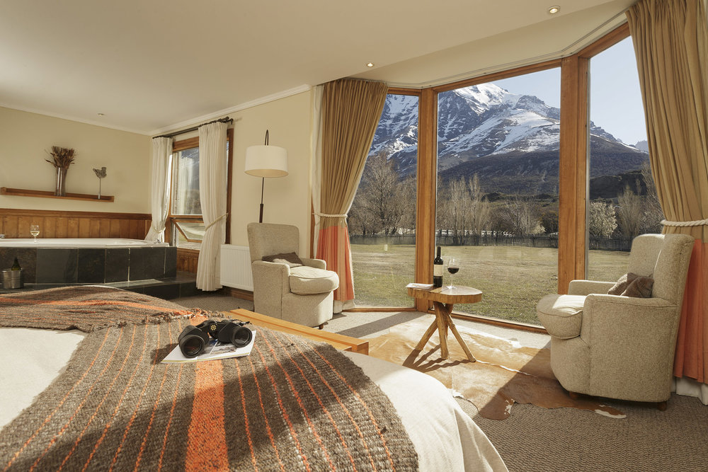 Suite Accommodations at Hotel Las Torres, Patagonia, Chile