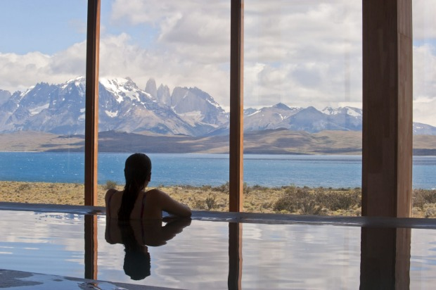 Spa at Hotel Tierra Patagonia, Chile