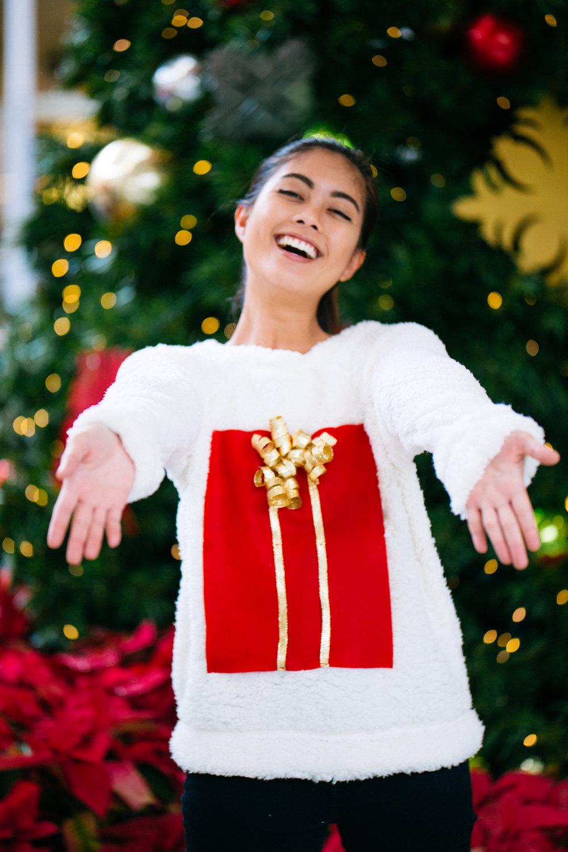 Women's  Xhilaration  Fluffy Sweater in S - $27.99~ (Target)  Not sold online