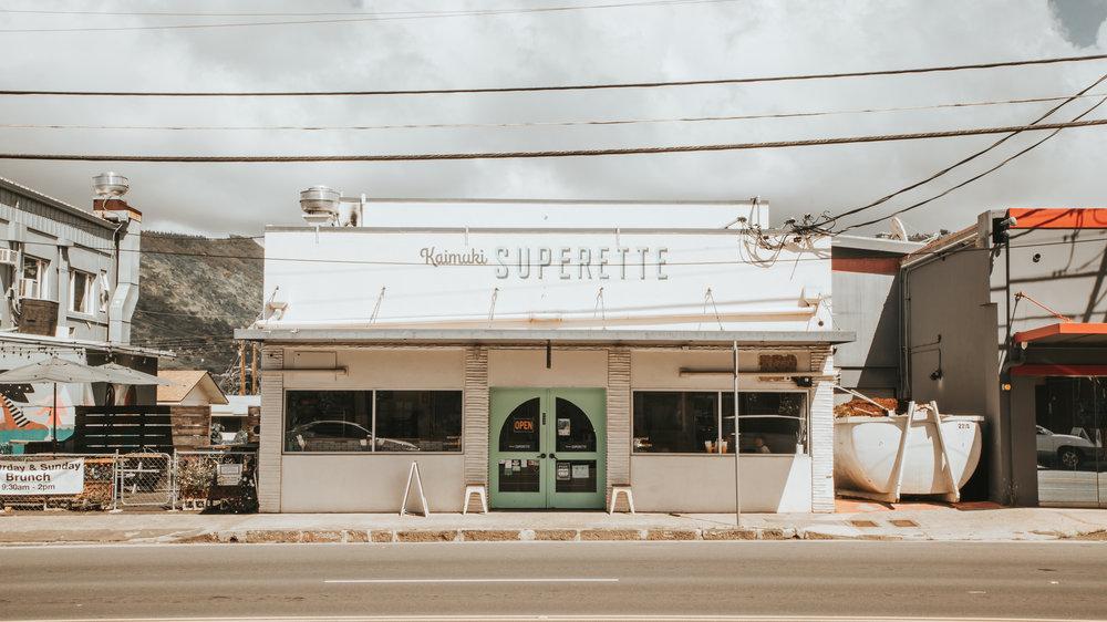SEAsonal SANDwiches & SUNdries at   Kaimuki Superette