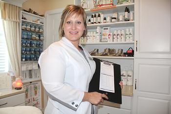 Stéphanie St-Onge Cornish, C.Pod. - Foot Care Specialist I Certified Podologist I Reflexologist