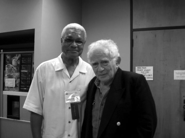Al Young & Norman Mailer - 2009.jpg