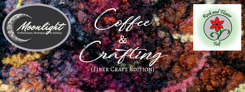 Coffee & Crafting (Fiber Crafter Edition) at Moonlight Coffeehouse - Milwaukie Oregon's favorite neighborhood coffee shop and gallery!