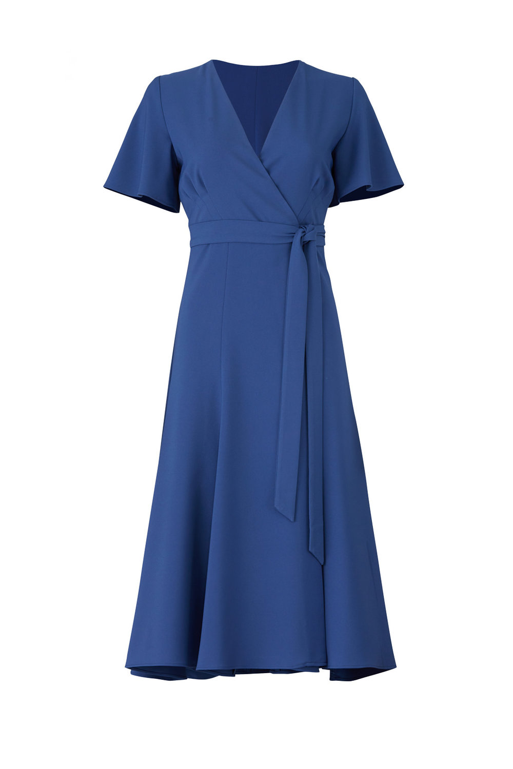 Kiera Wrap Dress by Hutch - Why It Works: Wrap dresses are super flattering for many body types. The color is just beautiful and will work with most skin tones. Also, it reminds me of Kate Middleton's engagement dress, which is a win in my book!