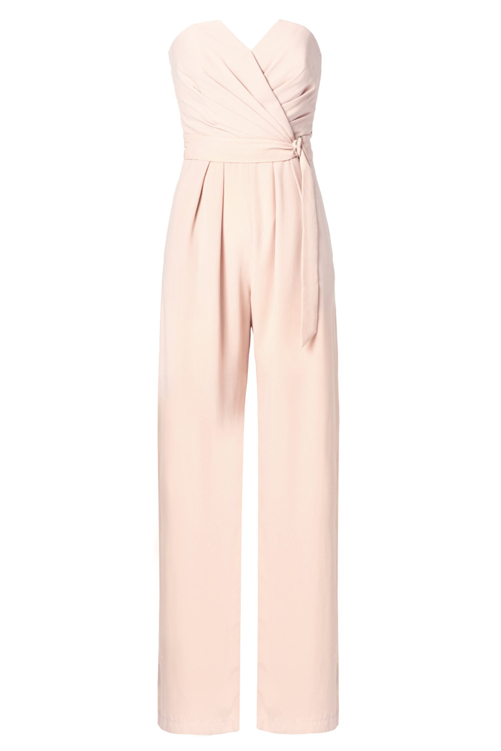 East Side Jumpsuit by Jill Jill Stuart  - Why It Works:  The soft color is super feminine and can be dressed up or down depending on how it's accessorized.  It's tailored but not stiff and is a fun alternative to a dress if you're not a dress-wearing kinda gal.