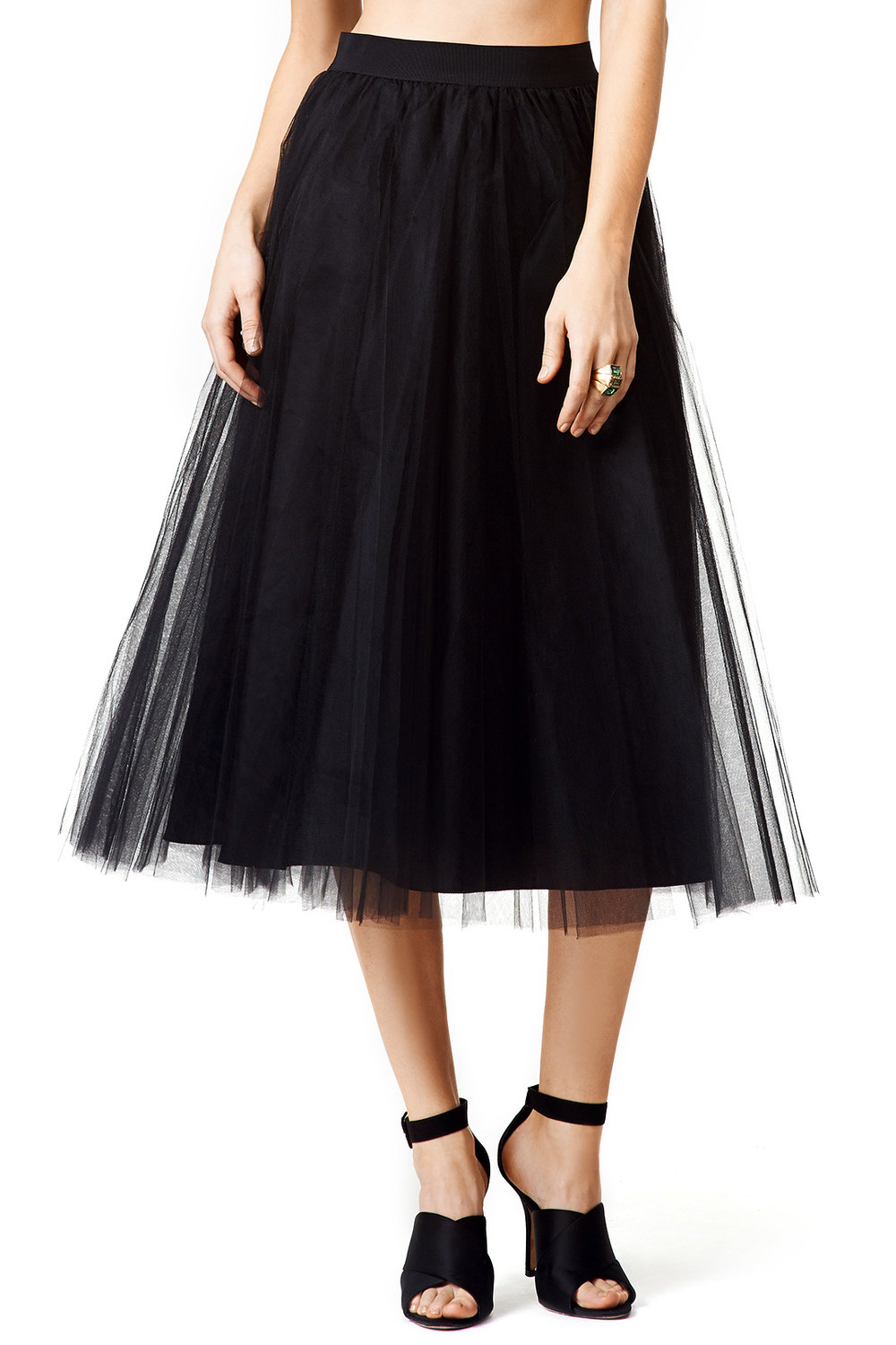 Windswept Skirt by Badgley Mishka - Why It Works: Any type of skirt or dress that offers movement is a great option for portraits. This skirt can take on a more casual or formal vibe depending on what top it's paired with and how it's accessorized.