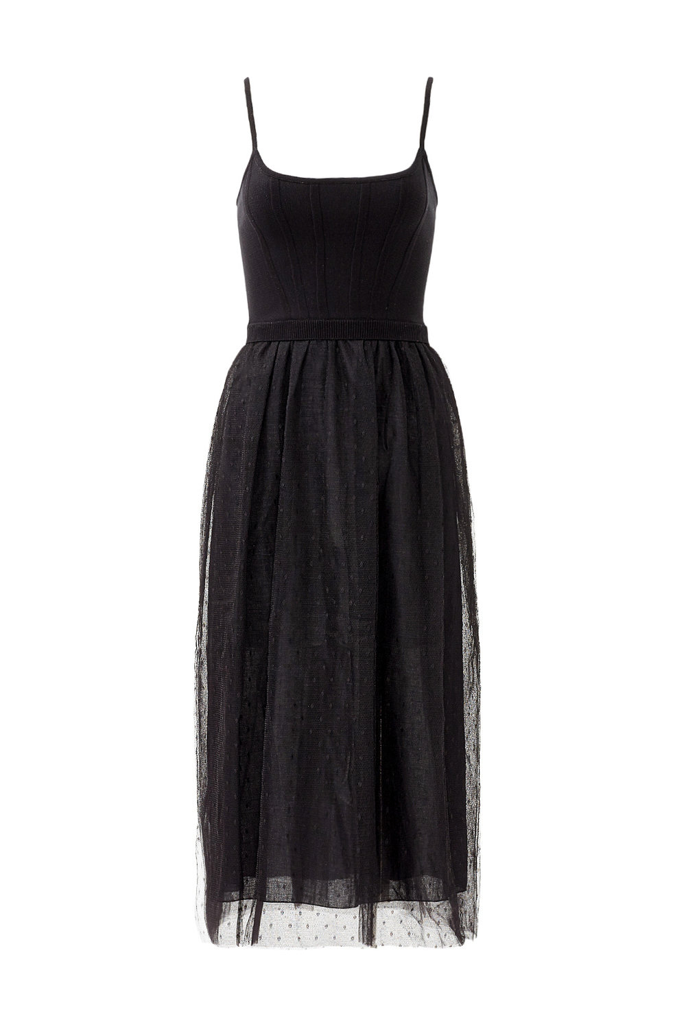 Black Balletic Dress by RED Valentino - Why It Works:  What's better than a LBD? It's classic, it's fun and neutral!